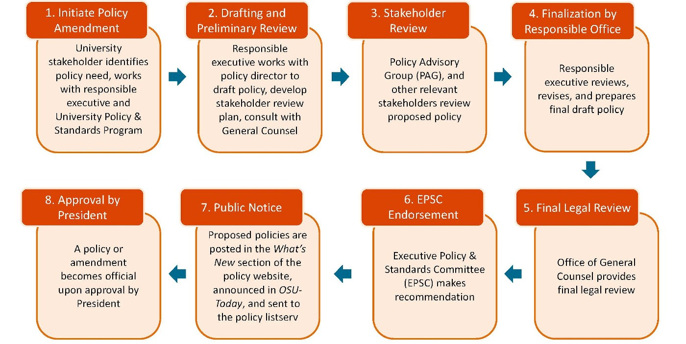 Policy Process Flowchart
